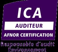 Logo auditeur qualité ICA
