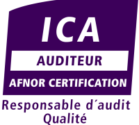 Logo auditeur qualité ICA - Responsable d'audit