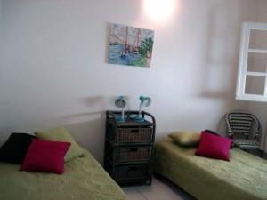 chambre 3 maison à vendre Guadeloupe front de mer