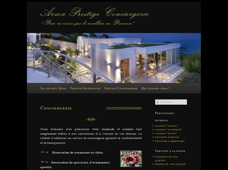 Arma Prestations - Conciergerie privée de luxe en Provence