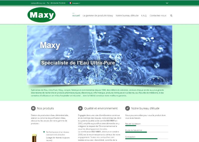 maxy-expert en eau pure