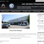 Site internet du groupe automobile Chaudagne