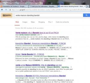 numéro 1 sur Google - référencement naturel