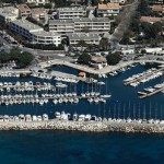 Le port des Salettes sur vente appartement carqueiranne